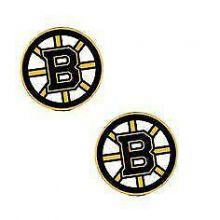 NHL Boston Bruins Stud Earrings