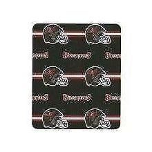 "Tampa Bay Buccaneers 50"" x 60"" 3 Bar Fleece Throw"