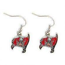 Tampa Bay Buccaneers Logo Dangle Earrings