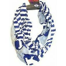 Brigham Young Cougars Striped 2 Tone Infinity Scarf
