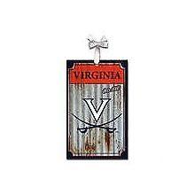 Virginia Cavaliers Corrugated Metal Ornament