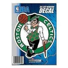 "Boston Celtics 5"" x 6"" Die-Cut Window Decal"
