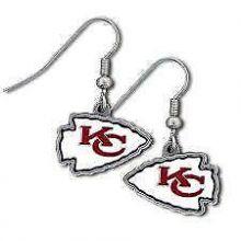 Kansas City Chiefs Logo Dangle Earrings
