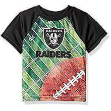 Oakland Raiders Toddler Boys Field T-Shirt 2T