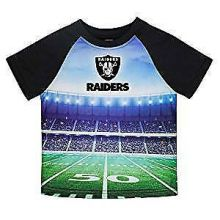 Oakland Raiders Toddler Boys Stadium T-Shirt 2T