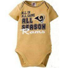 Los Angeles Rams Infant Tan Bodysuit (3-6 Months)