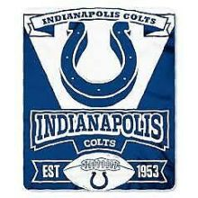 "Indianapolis Colts 50"" x 60"" Marque Fleece Throw Blanket"