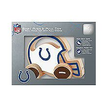 Indianapolis Colts Push & Pull Wood Toy