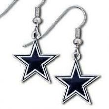 Dallas Cowboys Logo Dangle Earrings