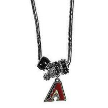 Arizona Diamondbacks Euro Bead Charm Necklace