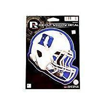 """Duke Blue Devils 6"""" Helmet Die-Cut Window Decal"""