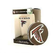Atlanta Falcons Pint and Coaster Set