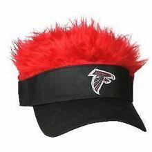 Atlanta Falcons Flair Hair Adjustable Visor