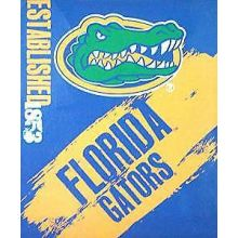 Florida Gators Established Fleece Throw Blanket