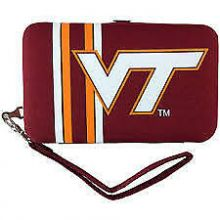 "Virginia Tech Hokies Distressed Wallet Wristlet Case (3.5"" X .5"" X 6"")"