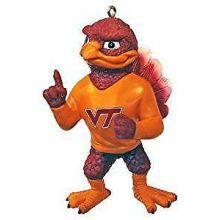 Virginia Tech Hokies Resin Mascot Ornament