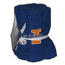 Illinois Fignting Illini 6 Pack Washcloth Set
