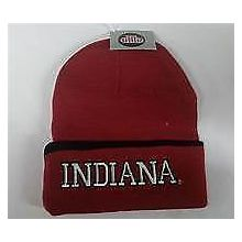 NCAA Officially Licensed Indiana Hoosiers Red Cuffed  Beanie