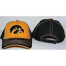 Iowa Hawkeyes Stitches Structured Adjustable Hat