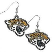 Jacksonville Jaguars Logo Dangle Earrings