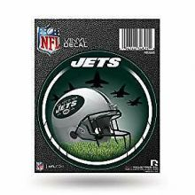 "New York Jets 4"" Round Vinyl Decal"