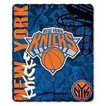 NBA New York Knicks Hardknocks Fleece Throw Blanket