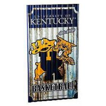 Kentucky Wildcats Corrugated Metal Wall Art