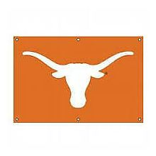 Texas Longhorns 2' x 3' Applique Logo Fan Banner