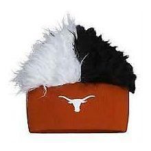 Texas Longhorns Faux Fur Flair Hair Flair Beanie