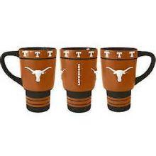 Texas Longhorns Sculpted Travel Mug with Lid, 15oz