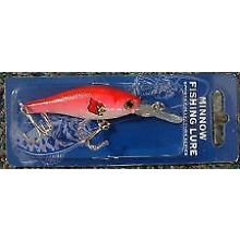 Louisville Cardinals Minnow Crankbait Fishing Lure