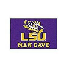 "LSU Tigers Man Cave Starter Rug 19"" X 30"""