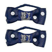 Dallas Mavericks Bow Pigtail Holders