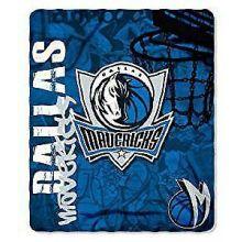 NBA Dallas Mavericks Hardknocks Fleece Throw Blanket