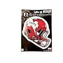 "Mississippi State Bulldogs 6"" Helmet Die-Cut Window Decal"