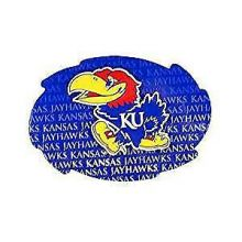 "Kansas State Wildcats 5"" x 6"" Repeating Design Swirl Magnet"