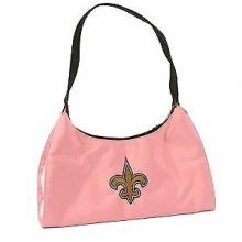 "New Orleans Saints Pink Purse Handbag Hobo Bag 13"" X 6"" X 5"""