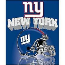 "New York Giants 50"" x 60"" Gridiron Fleece Throw Blanket"