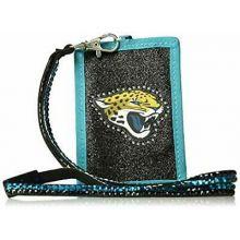 Jacksonville Jaguars Beaded Lanyard I.D. Wallet