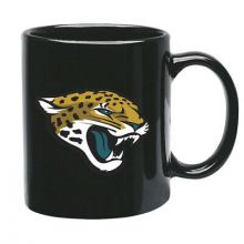 Jacksonville Jaguars 15 oz Black Ceramic Coffee Cup