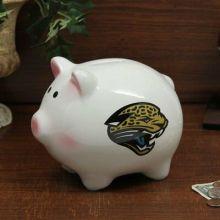 Jacksonville Jaguars Ceramic Piggy Bank