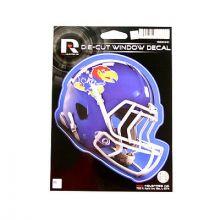 """Kansas Jayhawks 6"""" Helmet Die-Cut Window Decal"""