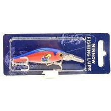 Kansas Jayhawks Minnow Crankbait Fishing Lure