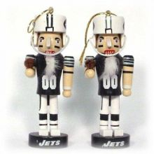 New York Jets 2 Pack Mini Nutcracker Ornaments