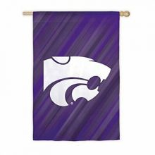 "Kansas State Wildcats Double Sided Sub Suede Flag 29"" X 43"""