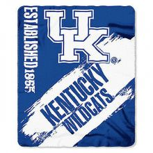 Kentucky Wildcats Established Fleece Throw Blanket