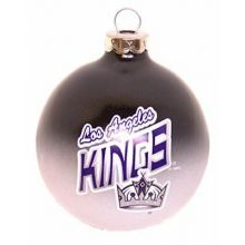 Los Angeles Kings Glass Ball Ornament