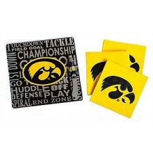 NCAA Iowa Hawkeyes Double Sided Team Color Breakaway Lanyard Key Chain