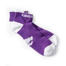 Kansas State Wildcats Tab Socks Purple