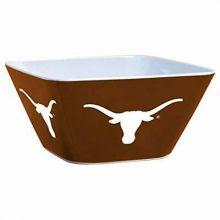 Texas Longhorns Solid Melamine Square Bowl, 4.5-Quart